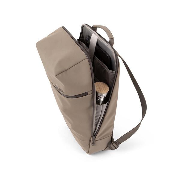 """Salzen Laptop Rucksack Savvy 15,6"""" hammada brown"""