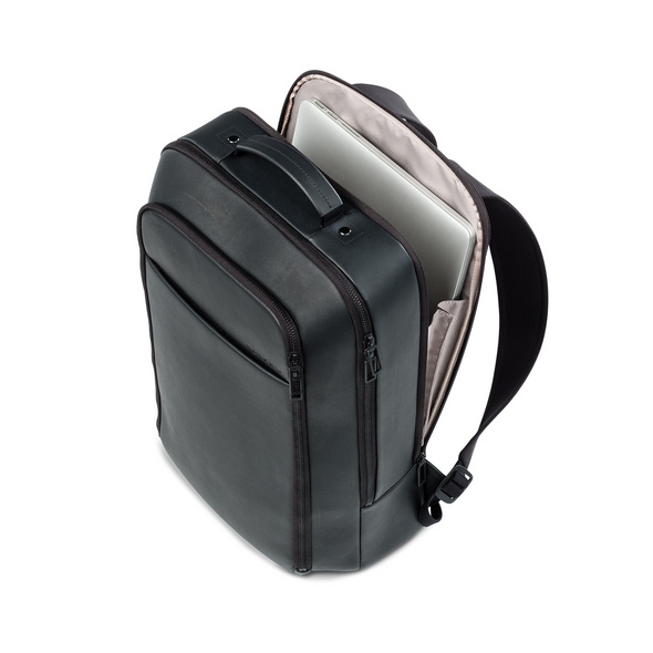 "Salzen Laptoprucksack Redefined Classic 15,6"" total black"