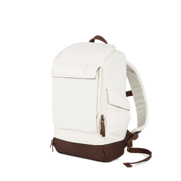 "AEP Laptop Rucksack Alpha Small Essential 13"" creme white"