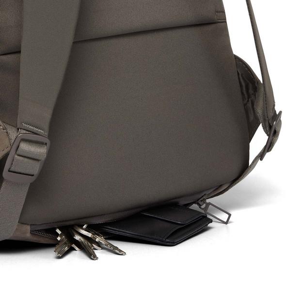 "Salzen Laptop Rucksack Plain Backpack Sleek Line 15,6"" weims taupe"