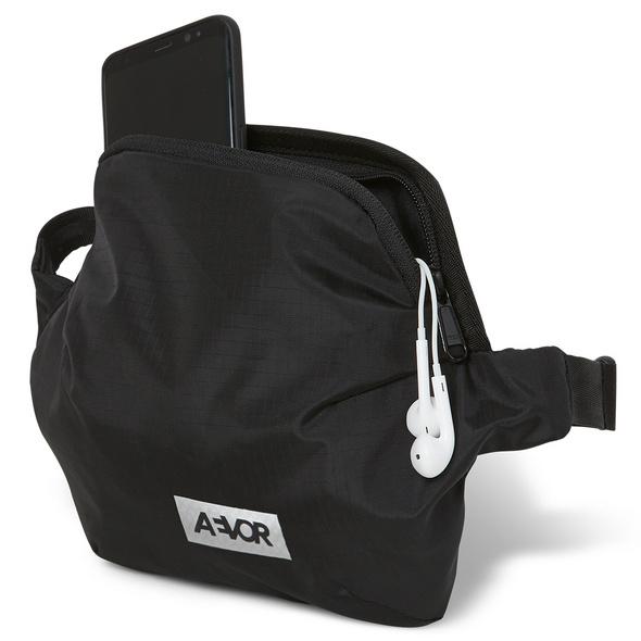 Aevor Bauchtasche Hip Bag Plus ripstop black