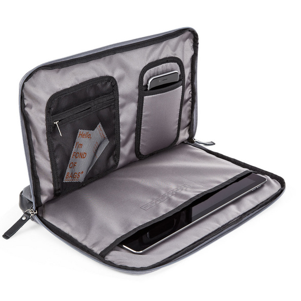 "AEP Laptophülle Delta Travel Pouch Essential 15"" graphite grey"