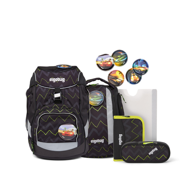 Ergobag Schulranzen Set 6tlg. Pack (2021) 200 BärStärke