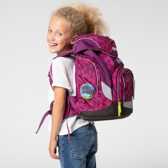 Ergobag Schulranzen Set 6tlg. Mädchen Pack NachtschwärmBär
