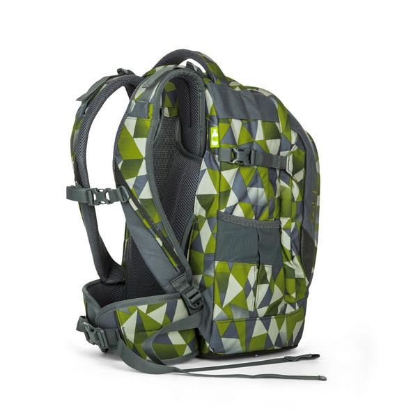 Satch Schulrucksack Pack 30l Green Crush