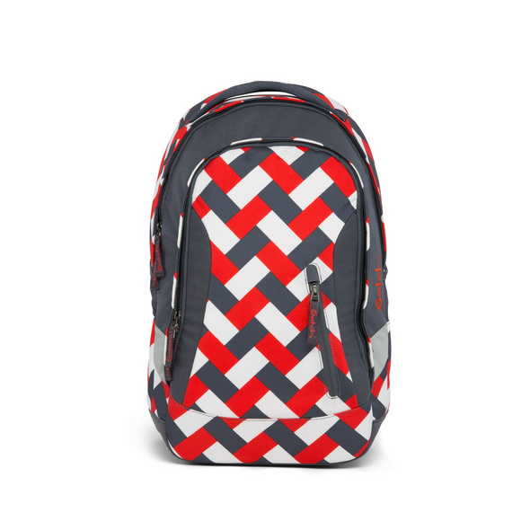 Satch Schulrucksack Sleek 24l Chaka Bricks