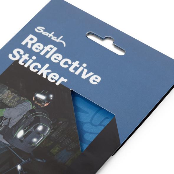 Satch Ergänzungsset Reflective Sticker blau