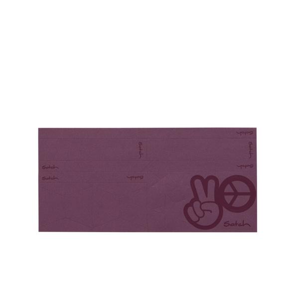 Satch Ergänzungsset Reflective Sticker lila