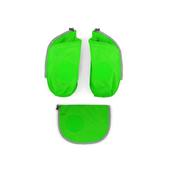 Ergobag Seitentaschen Cubo 3tlg. grün