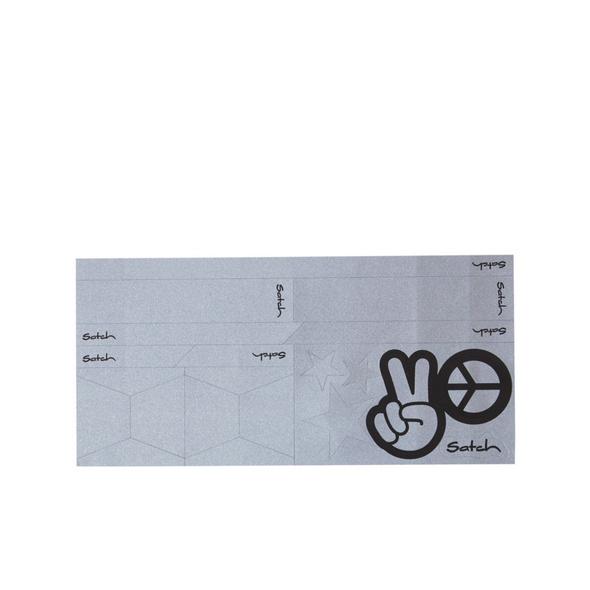 Satch Ergänzungsset Reflective Sticker silber