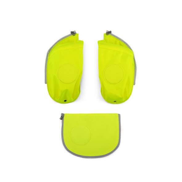 Ergobag Seitentaschen Cubo 3tlg. gelb