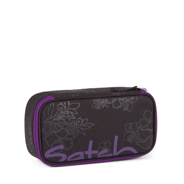 Satch Schlampermäppchen Purple Hibiscus