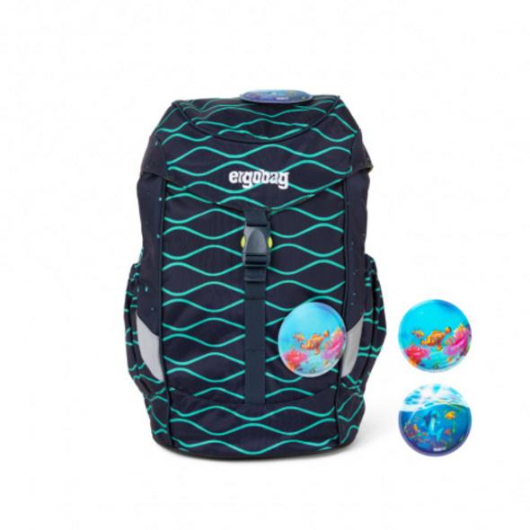 Ergobag Kinder Rucksack Mini Plus 10l BlubbBär