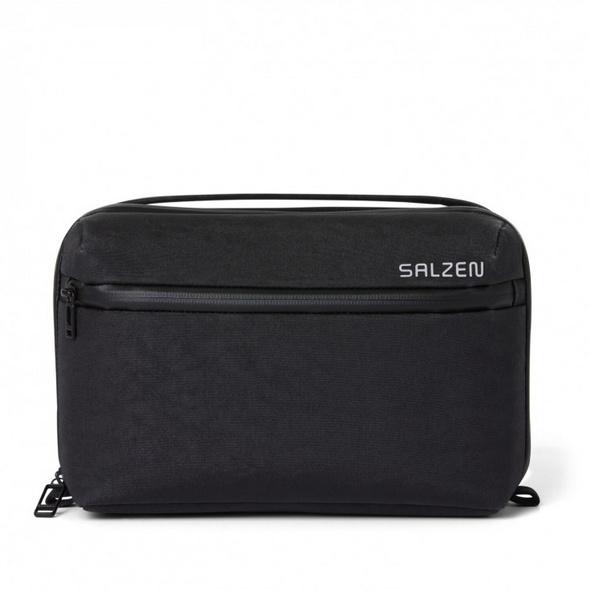 Salzen Kulturbeutel Panache Wash Bag shale black