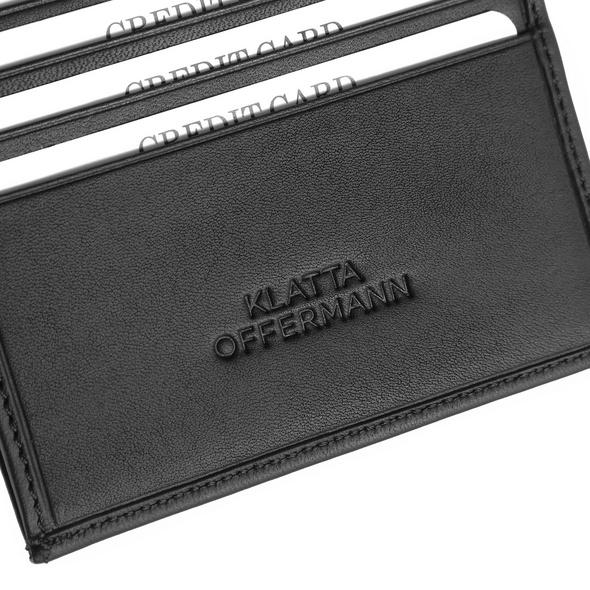 Klatta Offermann Kleinbörse Bifold Wallet S taupe