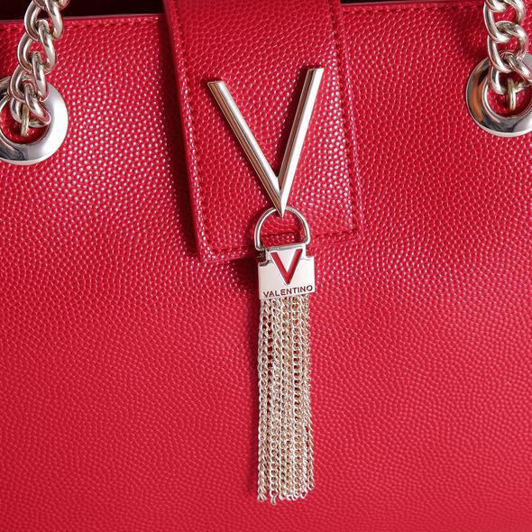 Valentino Kurzgriff Tasche Divina VBS/1R406G argento