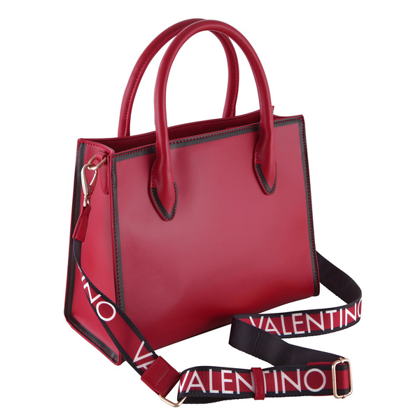 Valentino Bags Kurzgriff Tasche Mayor nero/grigio