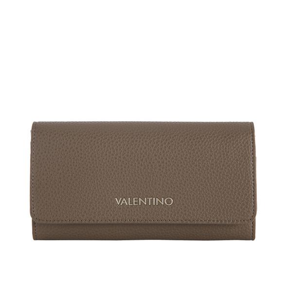 Valentino Bags Überschlagbörse Damen Superman taupe