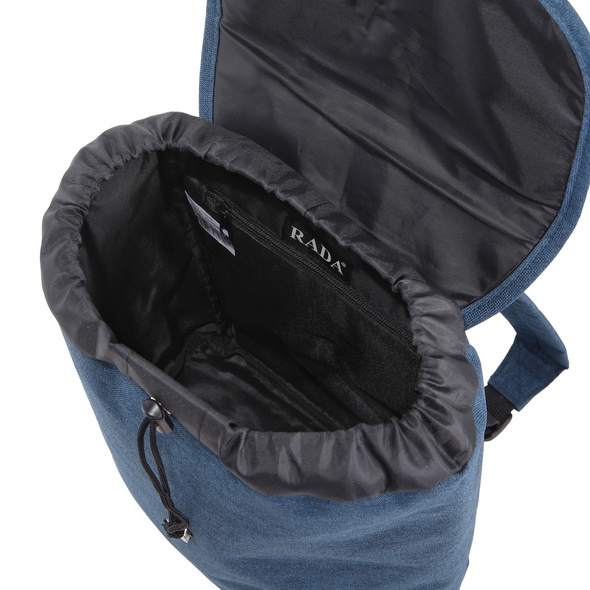 Rada Rucksack Creek Small Flap 13l shadow blue