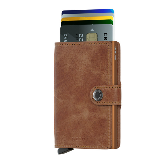 Secrid Kreditkartenetui Miniwallet vintage cognac-rust