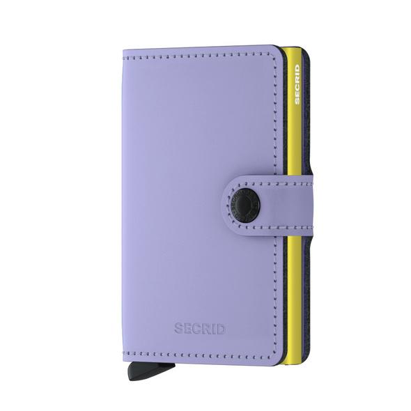 Secrid Kreditkartenetui Miniwallet matte lilac-lime