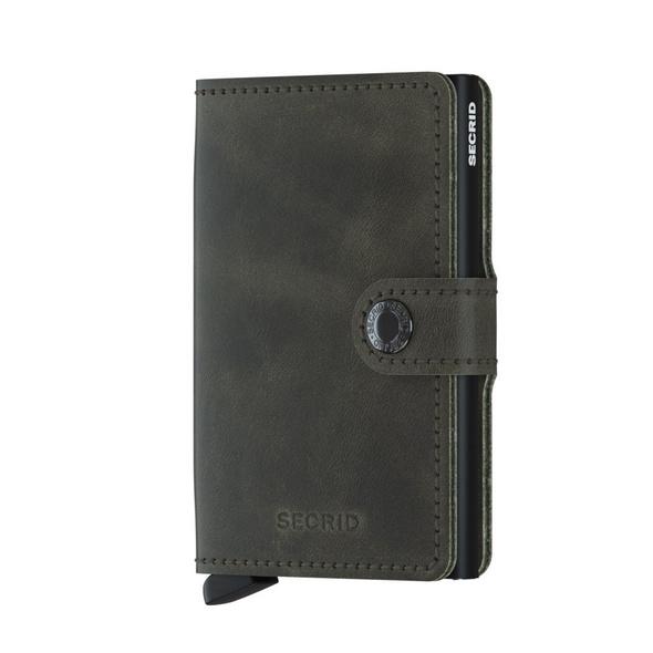 Secrid Kreditkartenetui Miniwallet Vintage olive/black