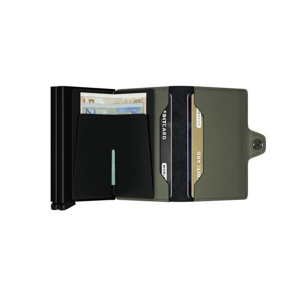 Secrid Kreditkartenetui Twinwallet matte green
