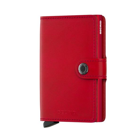 Secrid Kreditkartenetui Miniwallet Original rot/rot