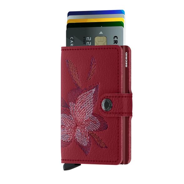 Secrid Kreditkartenetui Miniwallet Stitch rosso