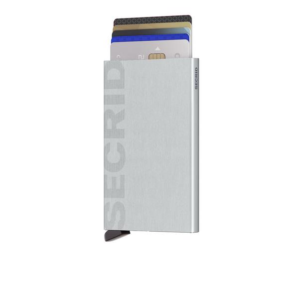 Secrid Kreditkartenetui Cardprotector laser brushed silver