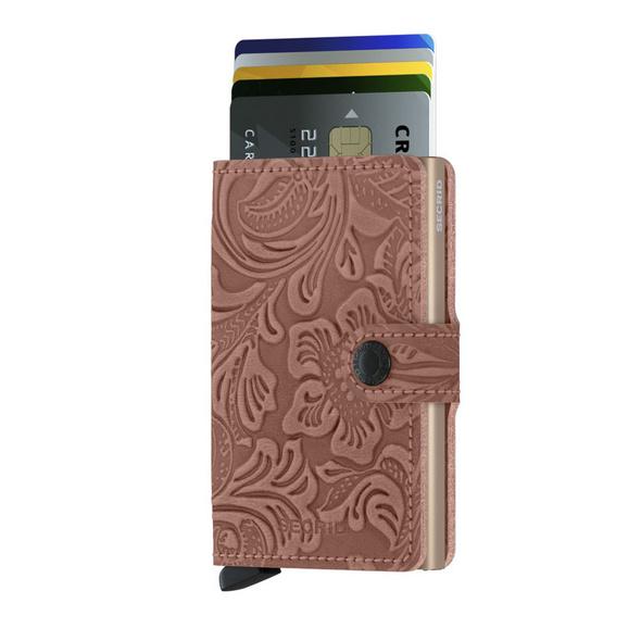 Secrid Kreditkartenetui Miniwallet Ornament rose