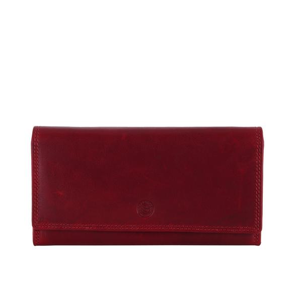 Sattlers & Co. Überschlagbörse Damen Kimbu The Jockey rot