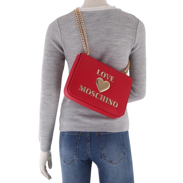 Love Moschino Abendtasche JC4035 mittelrot