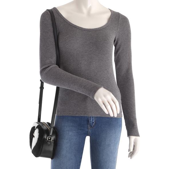 Love Moschino Abendtasche JC4260 schwarz/weiß