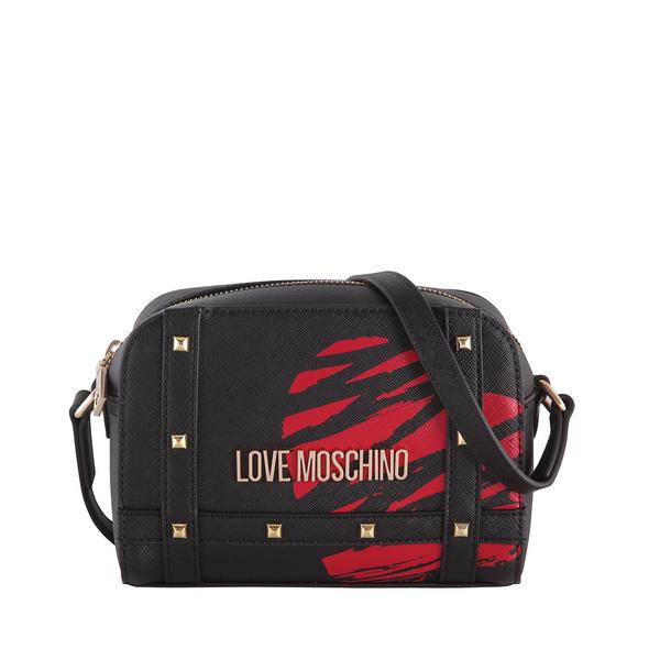 Love Moschino Umhängetasche JC4074 rot/schwarz