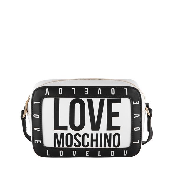 Love Moschino Umhängetasche JC4182 weiß