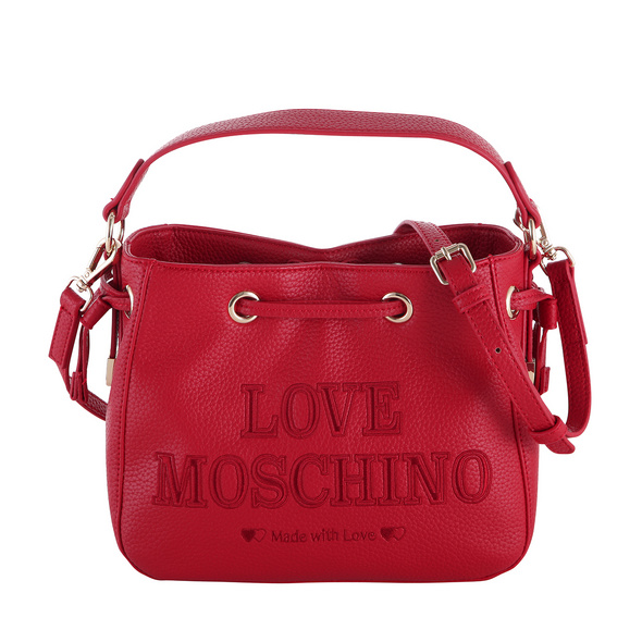 Love Moschino Kurzgrifftasche JC4290 mittelrot