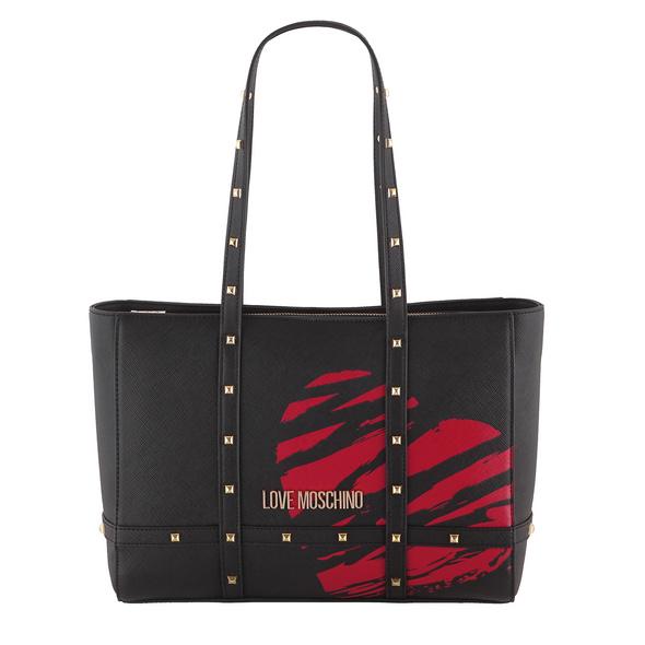 Love Moschino Shopper JC4076 schwarz/rot