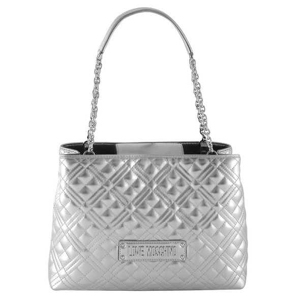 Love Moschino Shopper silber