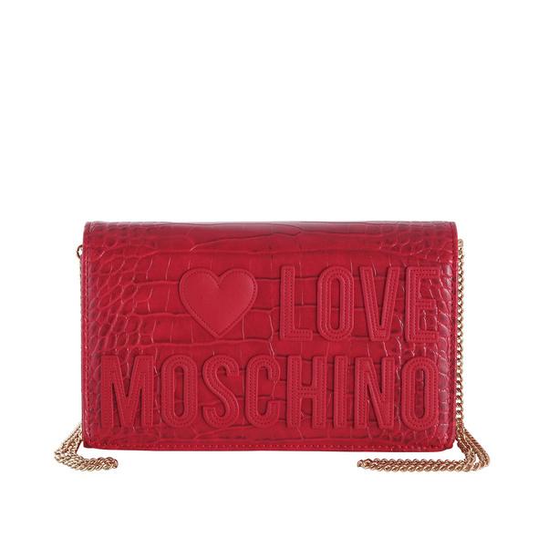 Love Moschino Abendtasche JC4063 mittelrot