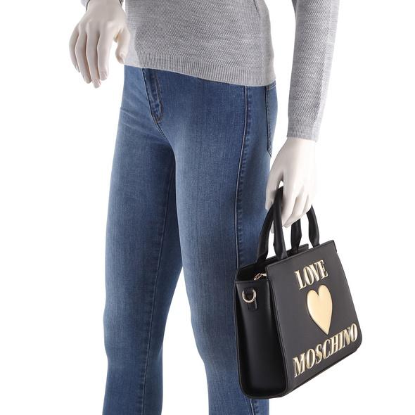 Love Moschino Kurzgriff Tasche JC4034 hellbeige