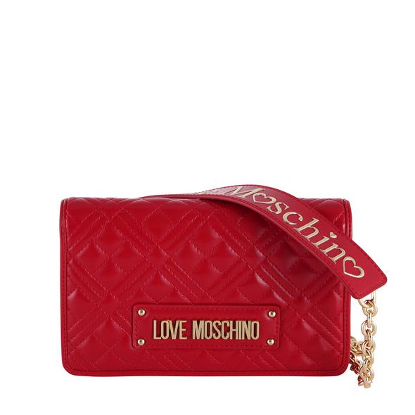 Love Moschino Abendtasche JC4010 mittelrot
