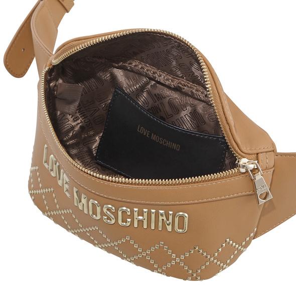 Love Moschino Bauchtasche JC4054 hellbeige