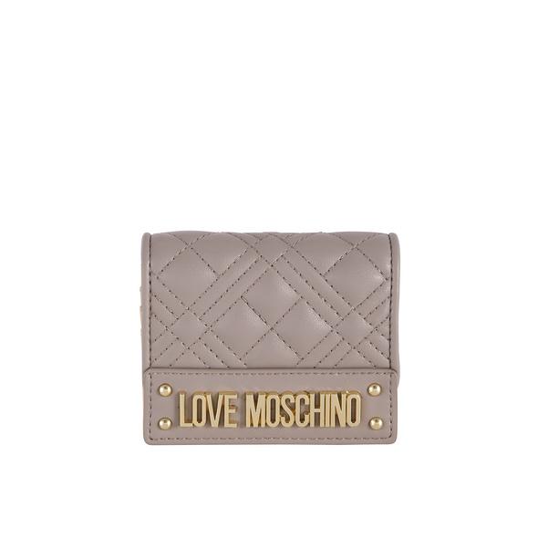 Love Moschino Kleinbörse Damen JC5601 mittelgrau