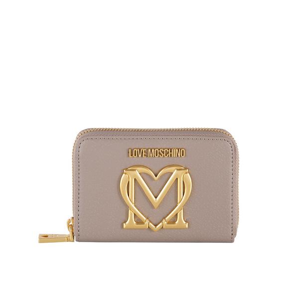 Love Moschino Kleinbörse Damen JC5649 grau