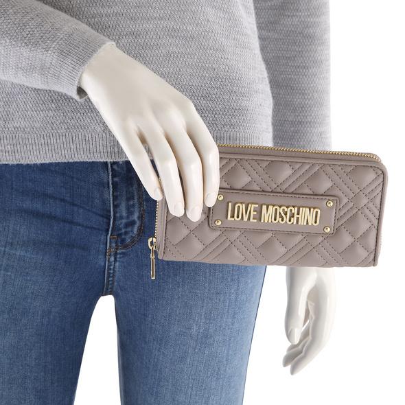 Love Moschino Querbörse Damen JC5600 grau