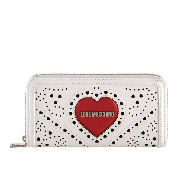 Love Moschino Langbörse Damen JC5624 weiß