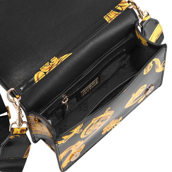 Versace Jeans Couture Umhängetasche Linea U DIS 9 schwarz barock print