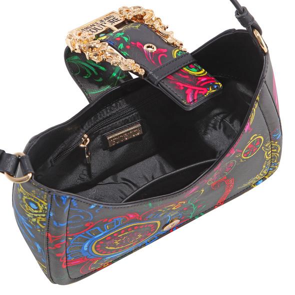 Versace Jeans Couture Kurzgriff Tasche Range F nero
