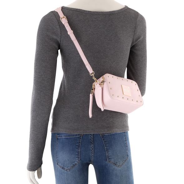 Versace Jeans Couture Umhängetasche Range E Studs Revolution nero